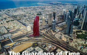 dubai-art-design-architecture-gallery-museum-sheikh-monk-guardians-of-time-sculpture-tower-hous-of-art-manfred-kielnhofer-kili