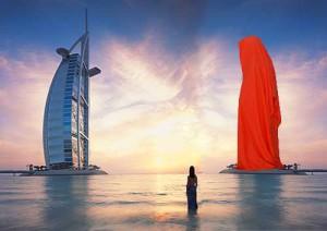 sheikh architecture Public Art Dubai Sculpture Projects guardians of time by Manfred Kielnhofer-765409